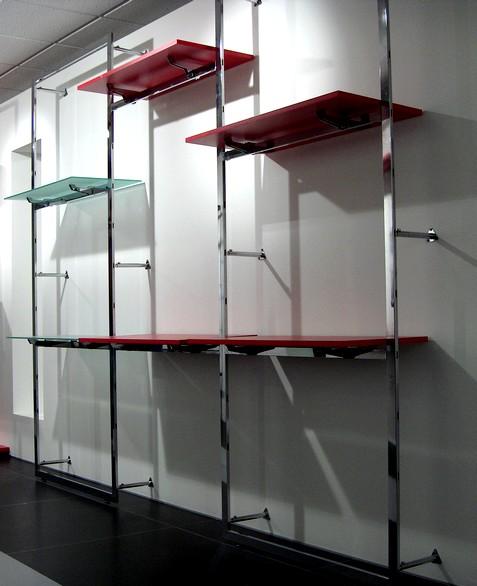Arredamento per negozi e supermercati al ticino sas for Scaffali arredo