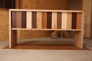 Sinfonia di linee poco note dal legno al design al colore for Mobili di design san diego