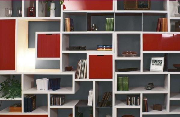 Librerie componibili moderne latest librerie componibili ferretti u ferretti with librerie - Libreria da parete ikea ...