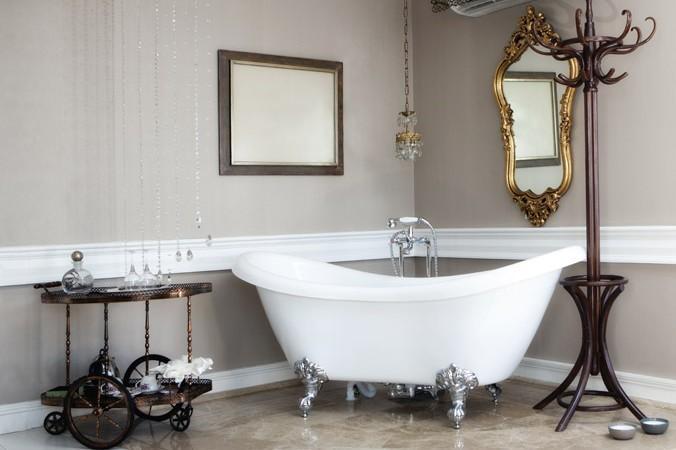 Il bagno vintage ecco come fare - Come fare per andare in bagno ...