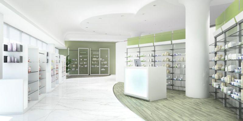 L 39 arredamento per farmacia che coniuga bellezza e for Bottigelli arredi farmacia